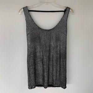 Metallic Tunic top/Mini dress